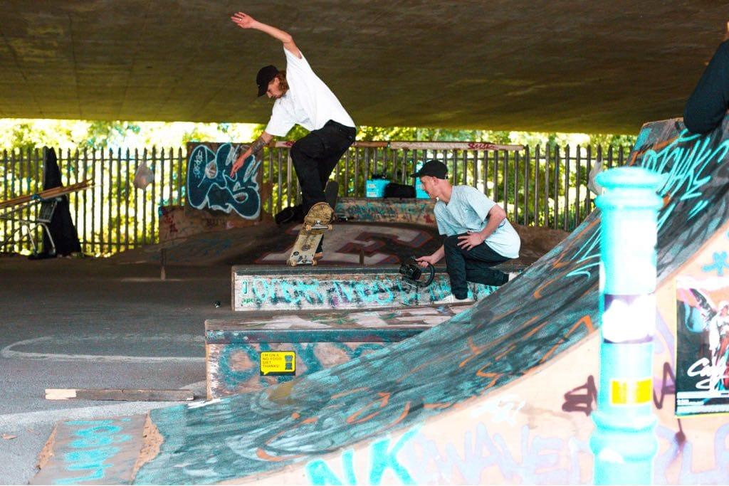 Griff noseblunt m32 skatepark bristol