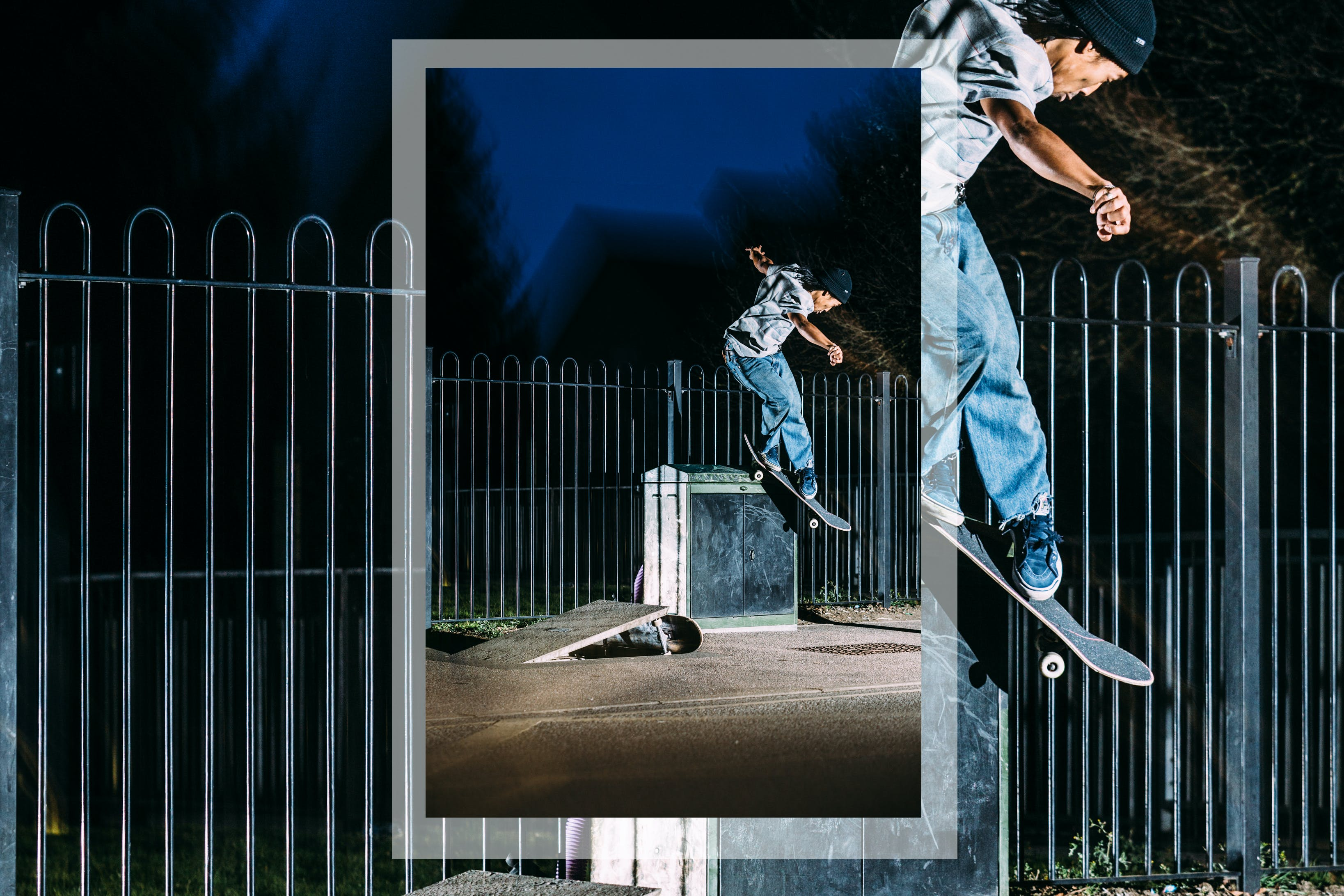 daryl dominguez bs smith grind welcome to route one skateboard team