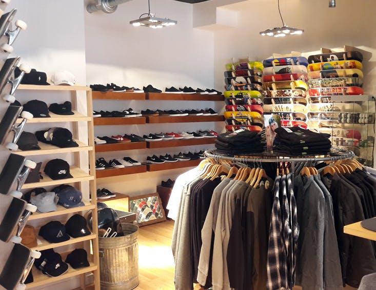 Edinburgh Store Shoe Wall
