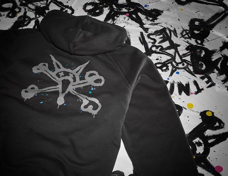 Etnies x Bones Splatter Zip Hoodie - Black.jpg