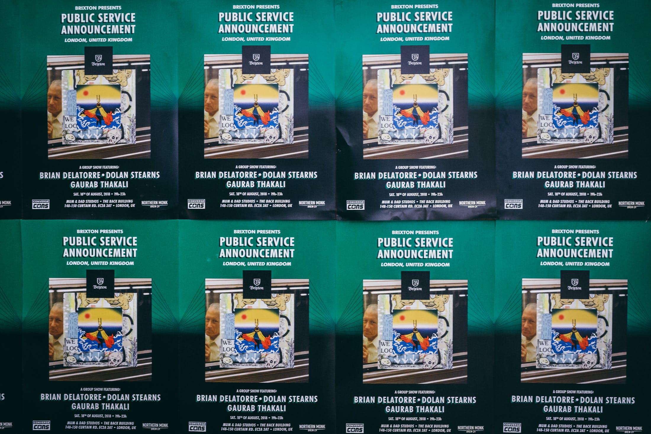 brixton Art Show Public Service Announcement